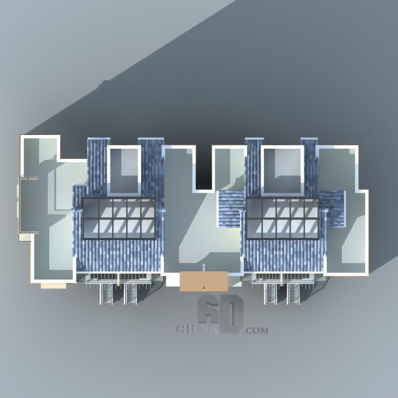 现代多层住宅