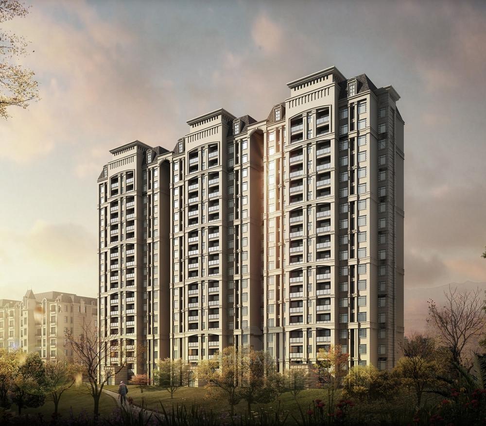 坡灵顿欧式高层住宅区