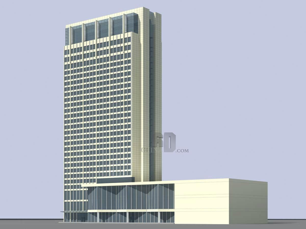 现代高层办公楼