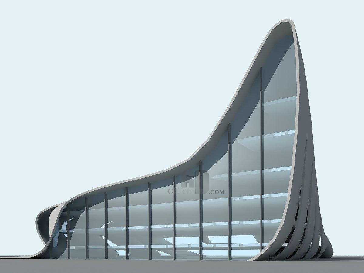 现代高层展馆