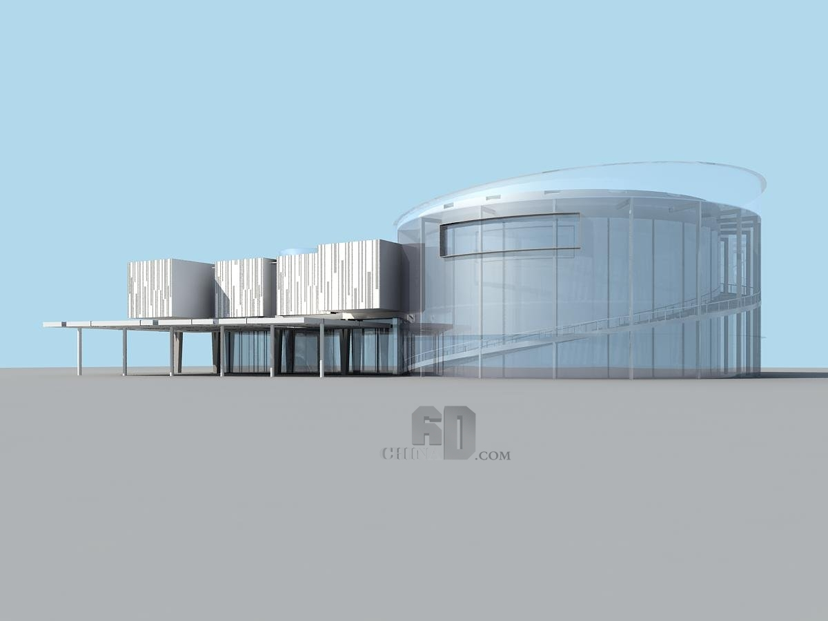 现代风格公建建筑