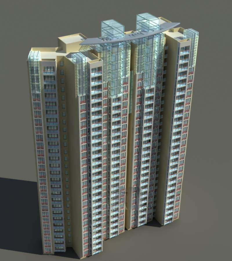 现代高层住宅