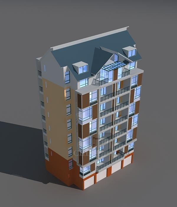 现代小高层住宅