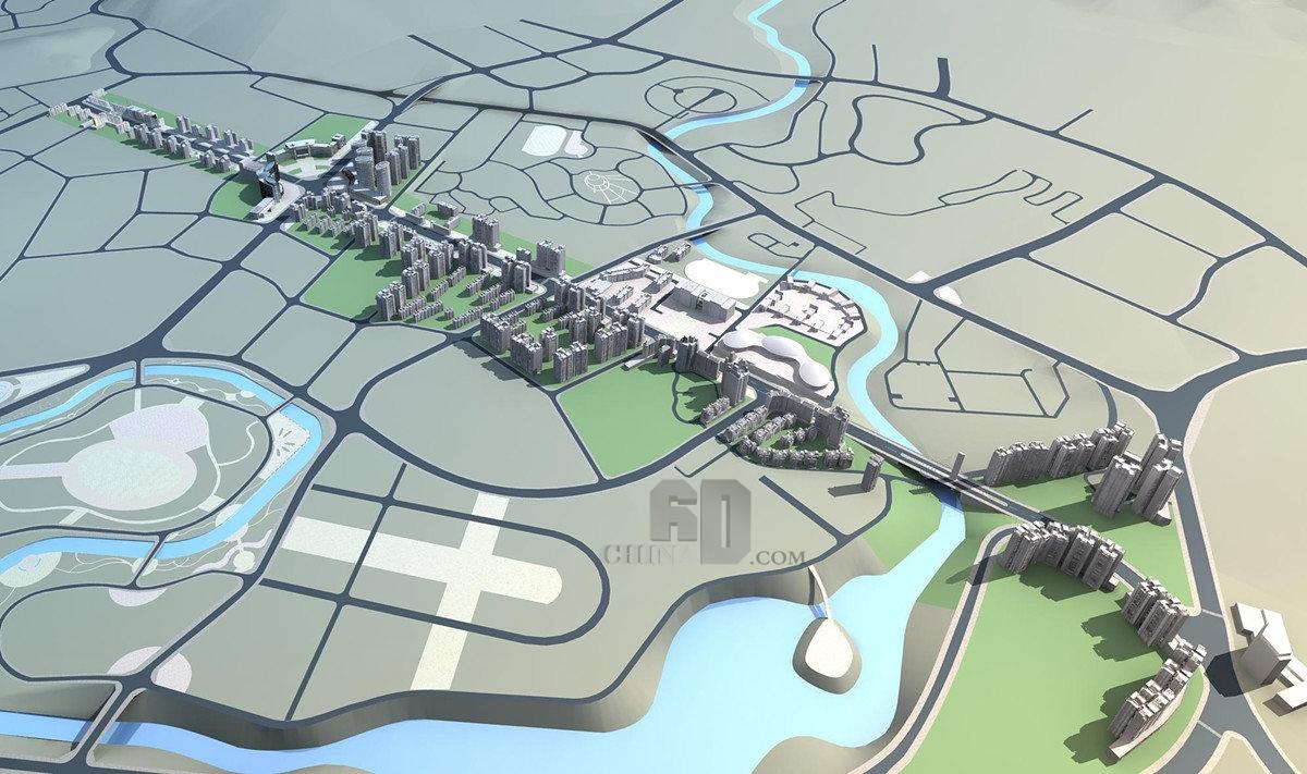 东升路居住区规划