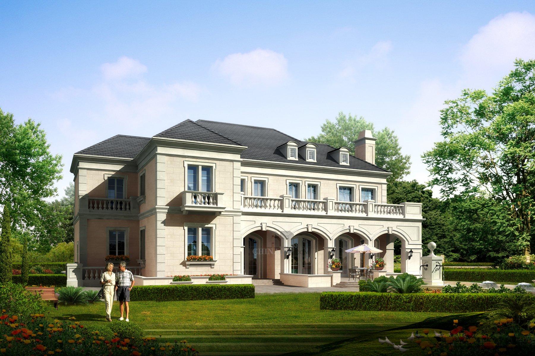 现代欧式独栋别墅