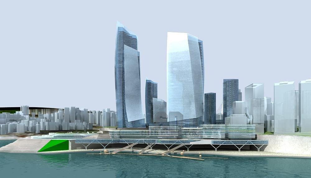 重庆朝天门商务区规划方案