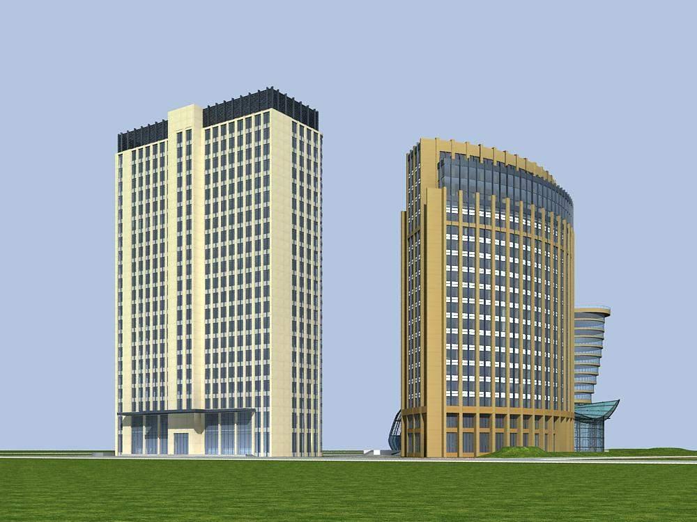 高层现代酒店