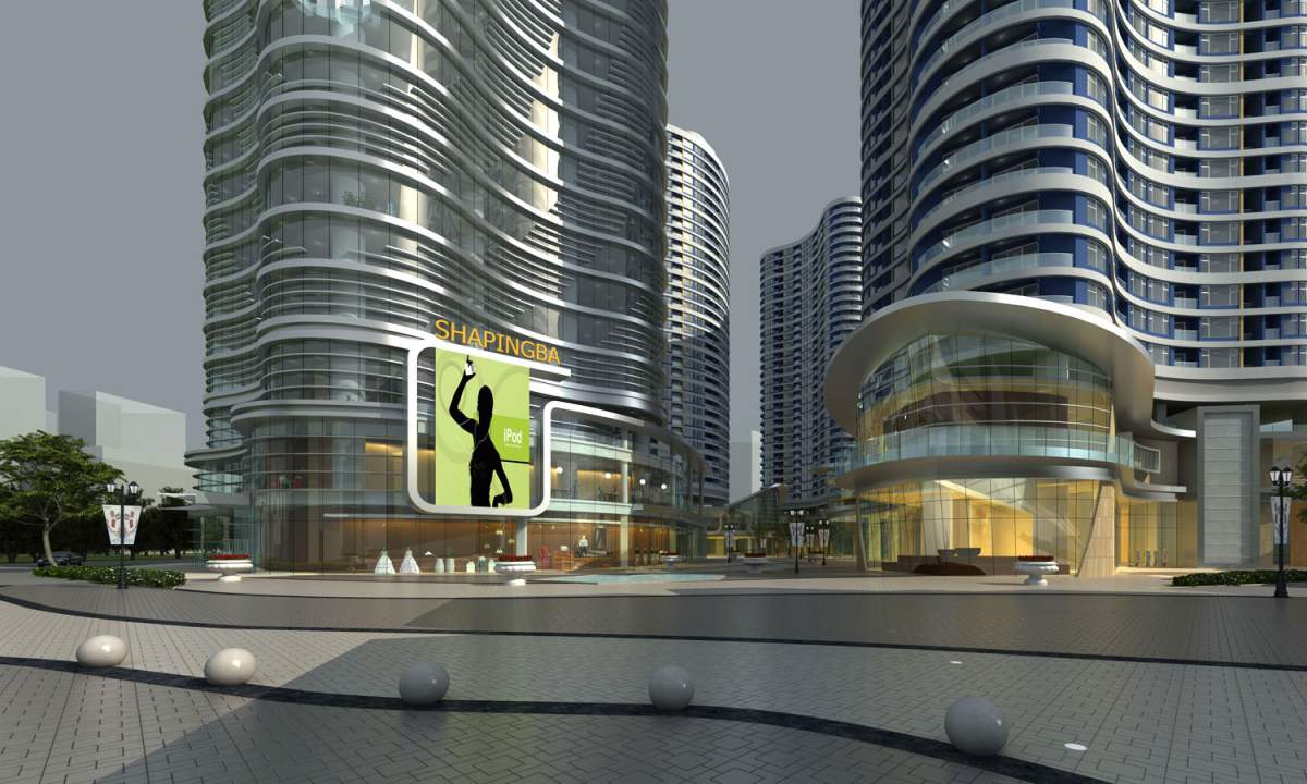 现代高层酒店式公寓