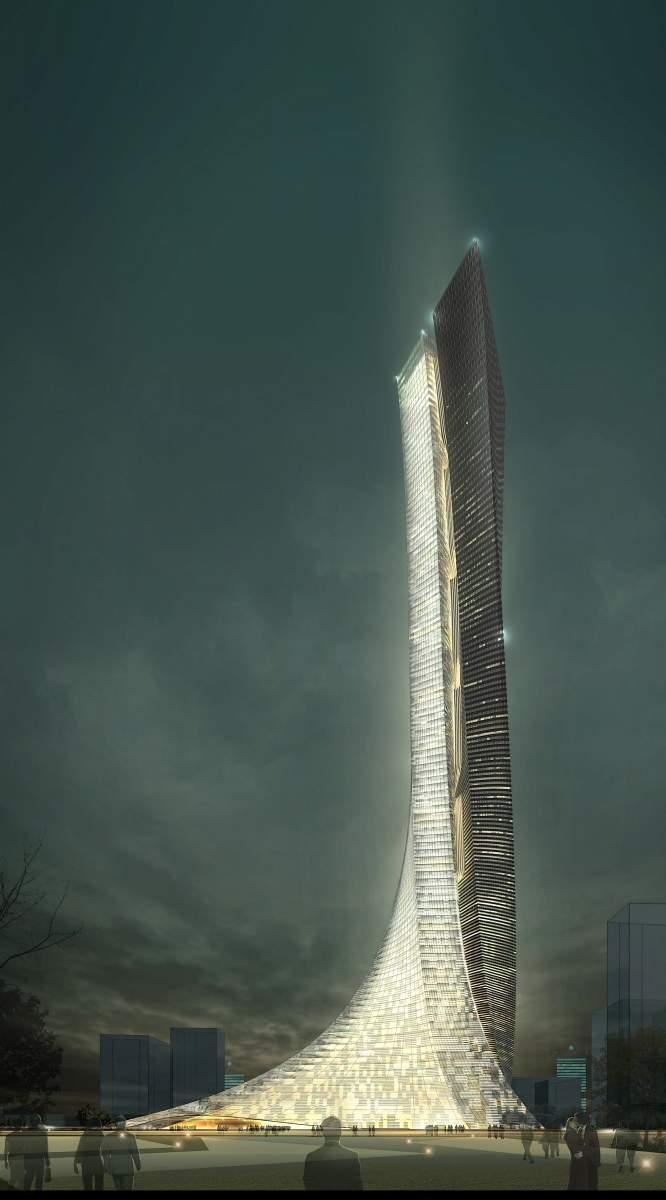 超高层 酒店