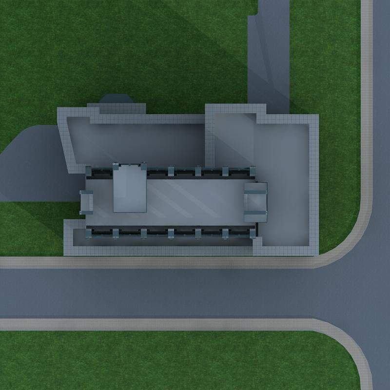 高层欧式办公楼
