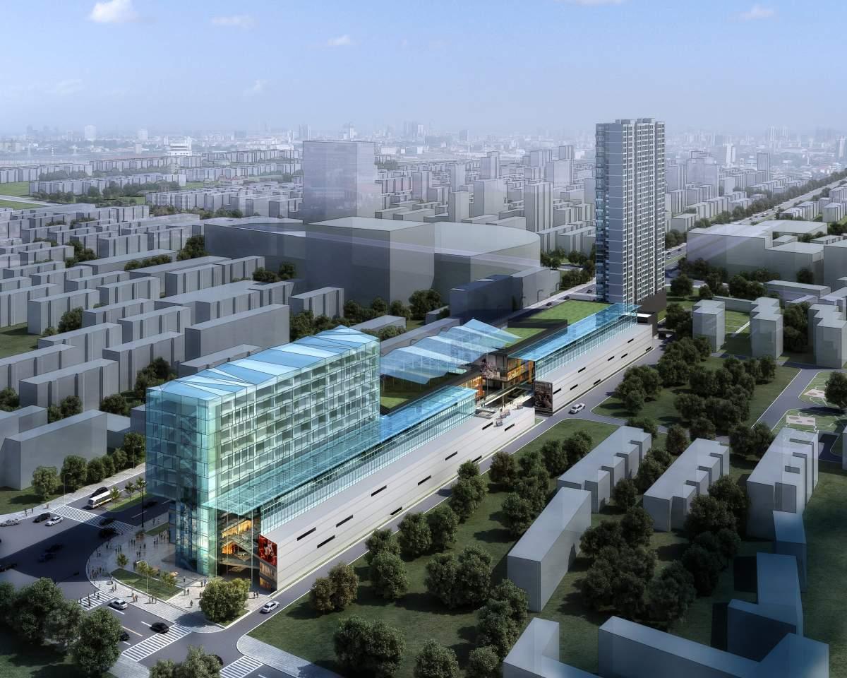 台州某综合广场