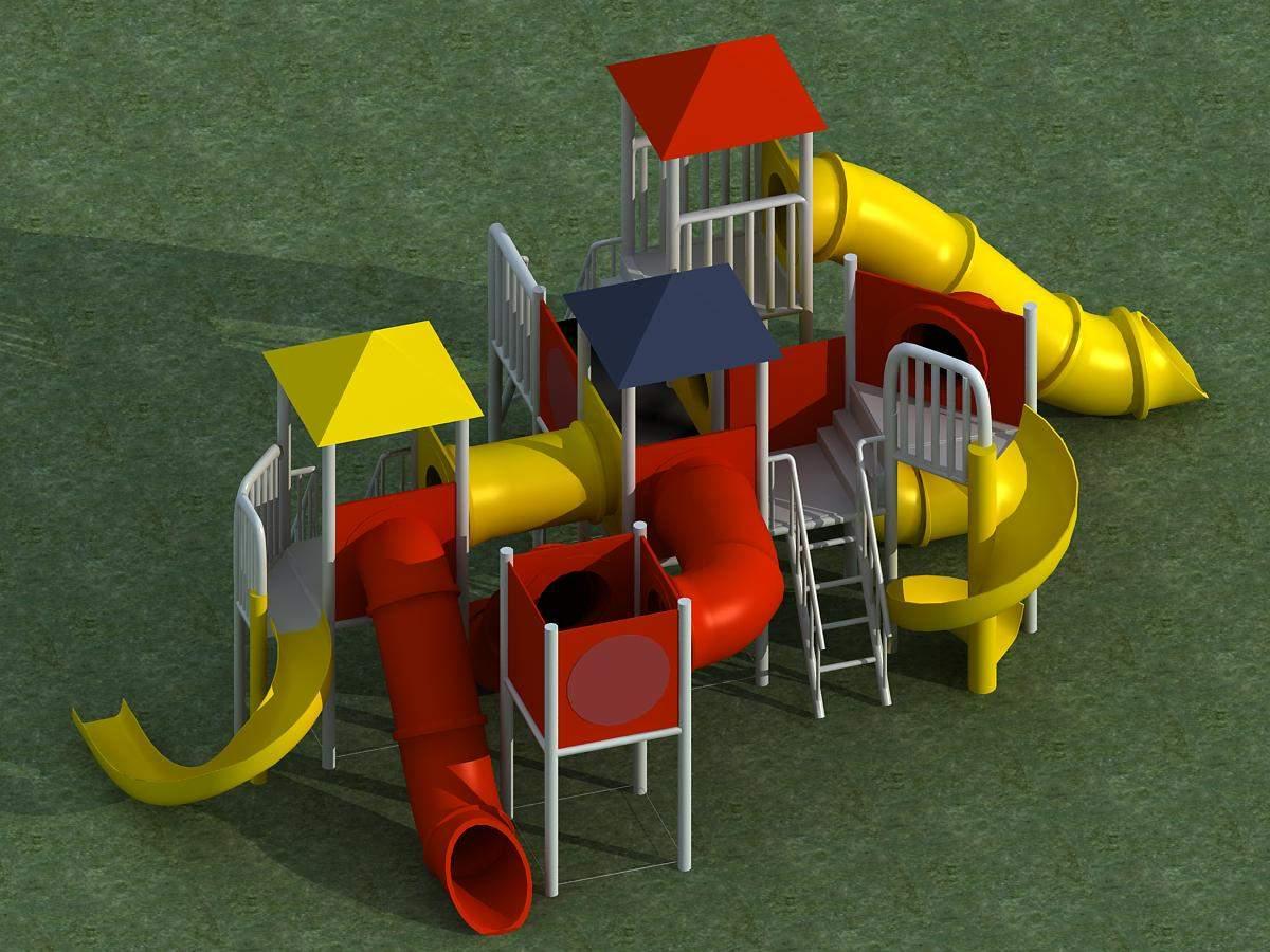 小品-儿童游乐场