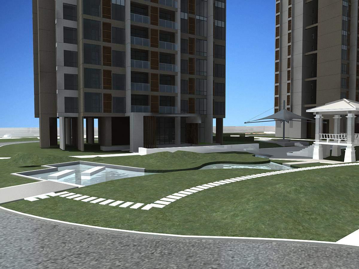 现代住宅项目
