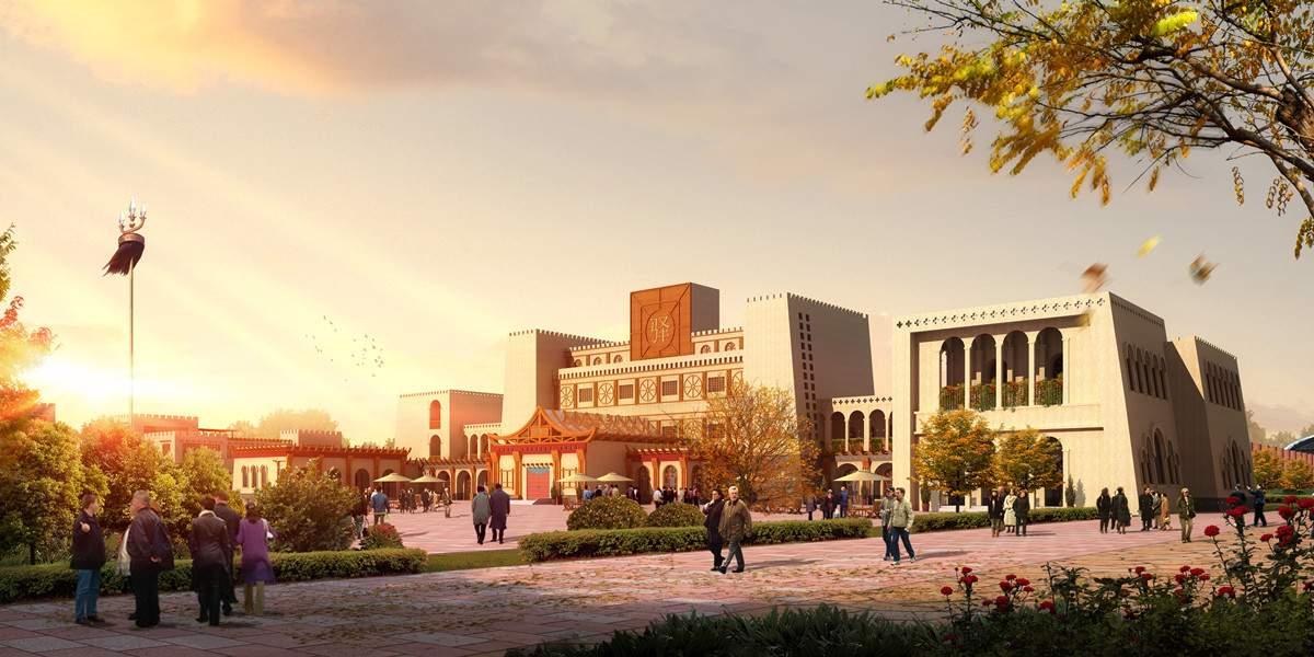 新疆第一站  商业区
