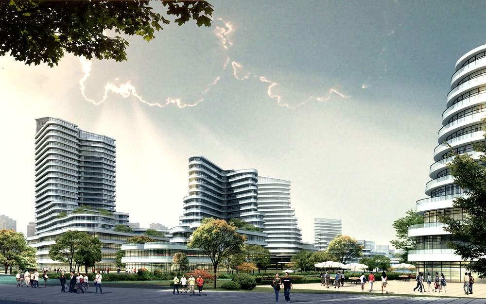 绍兴某客运中心规划设计