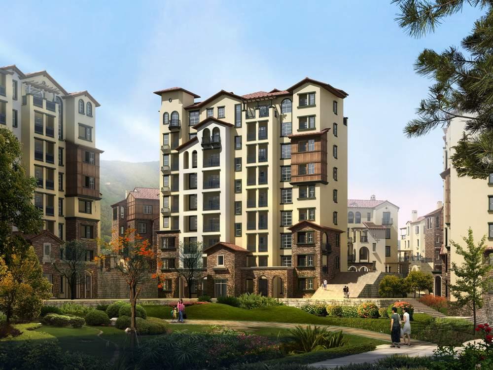 地中海风格单体住宅1