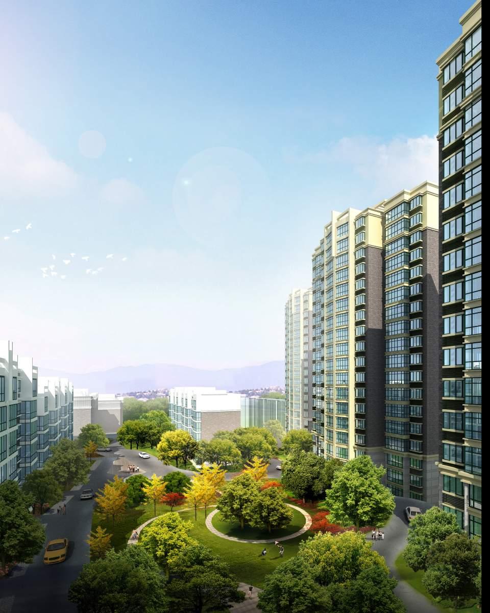 黔江6号地块规划