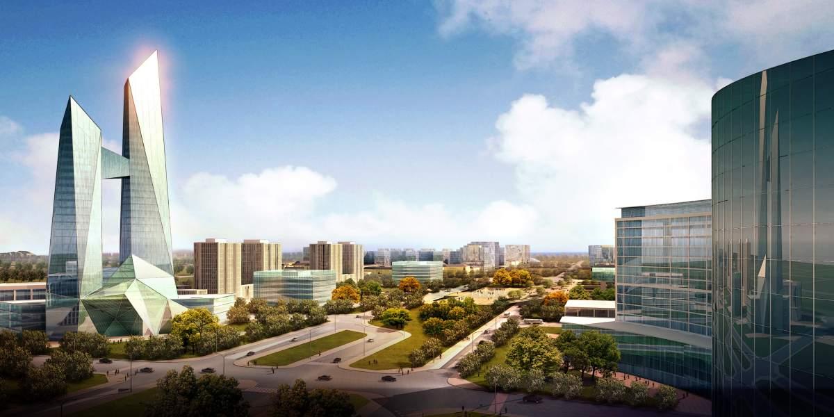 仙人岛城市规划