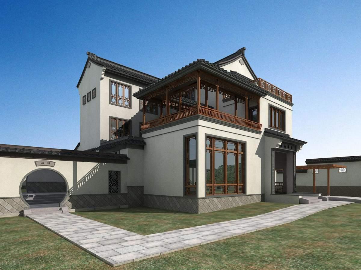 中式独栋别墅