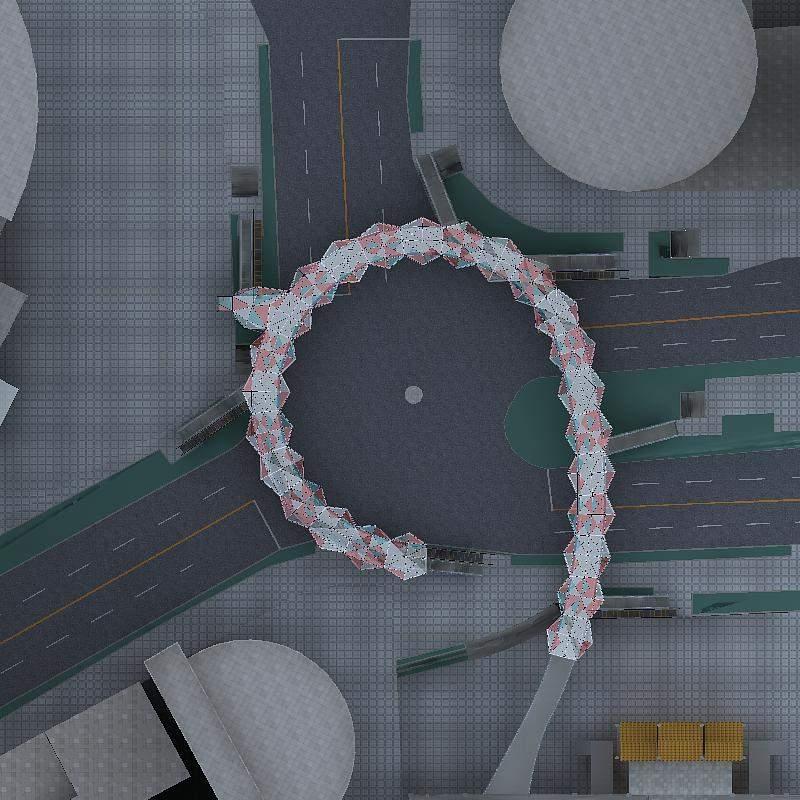 重庆渝中区临江门过街天桥方案一