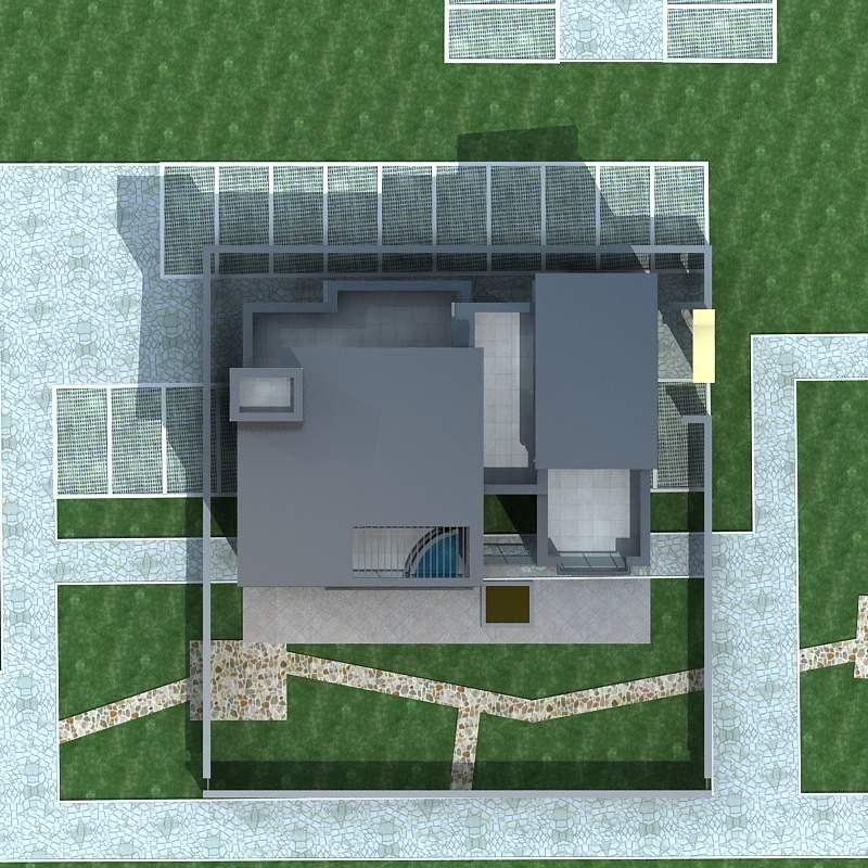 现代风格独栋别墅