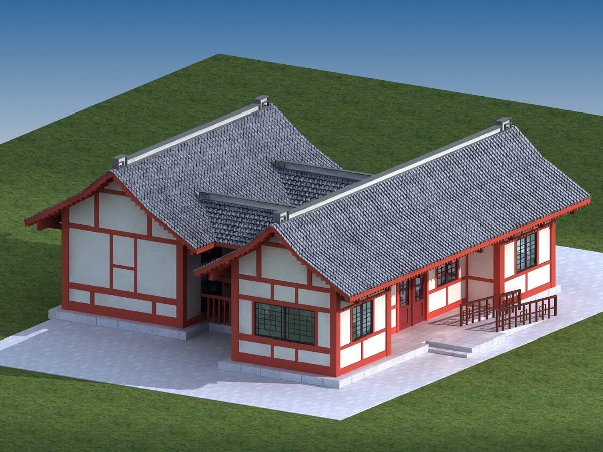 中式住宅楼