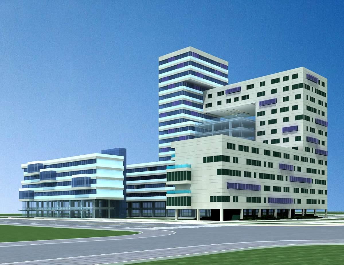 现代办公大厦