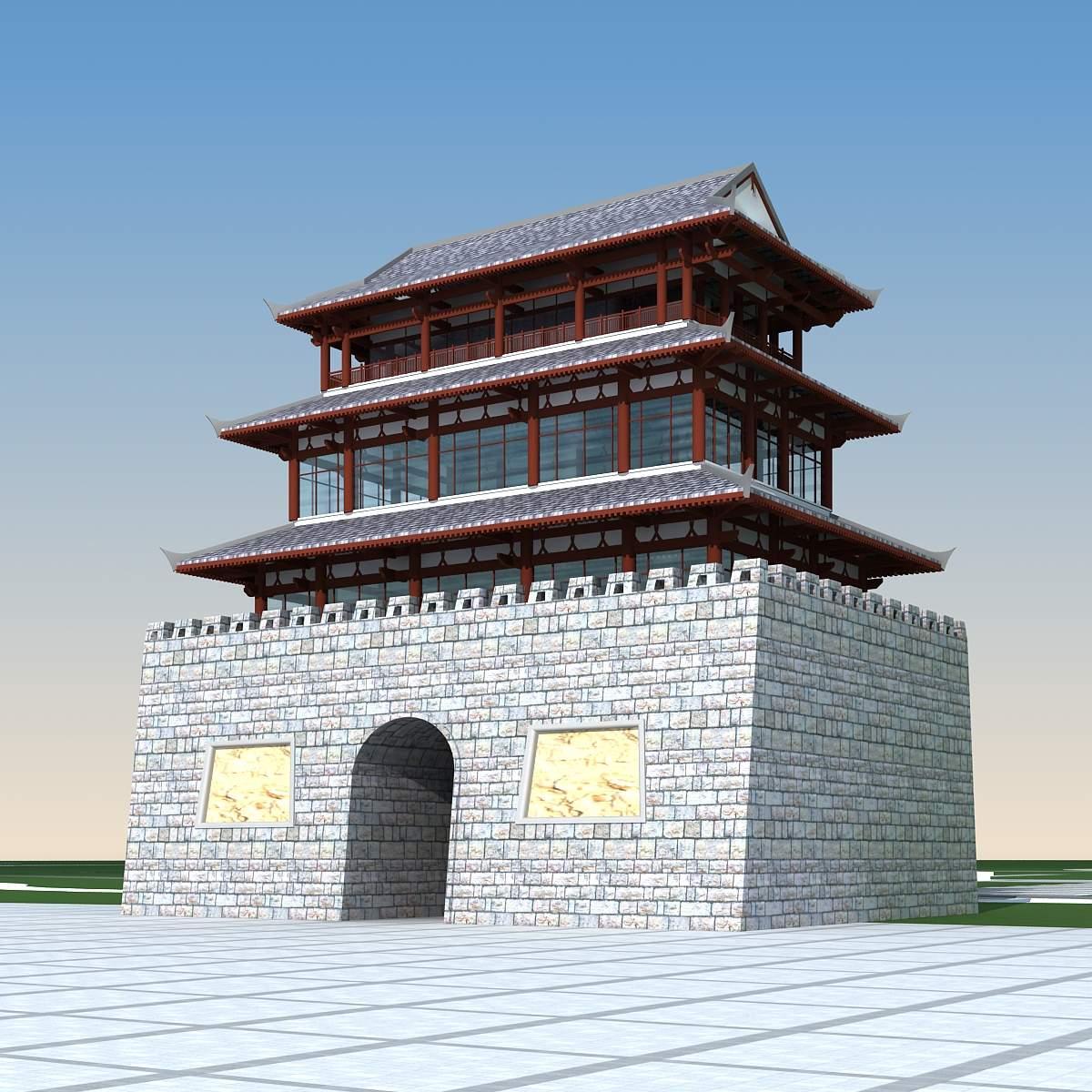古代---城楼