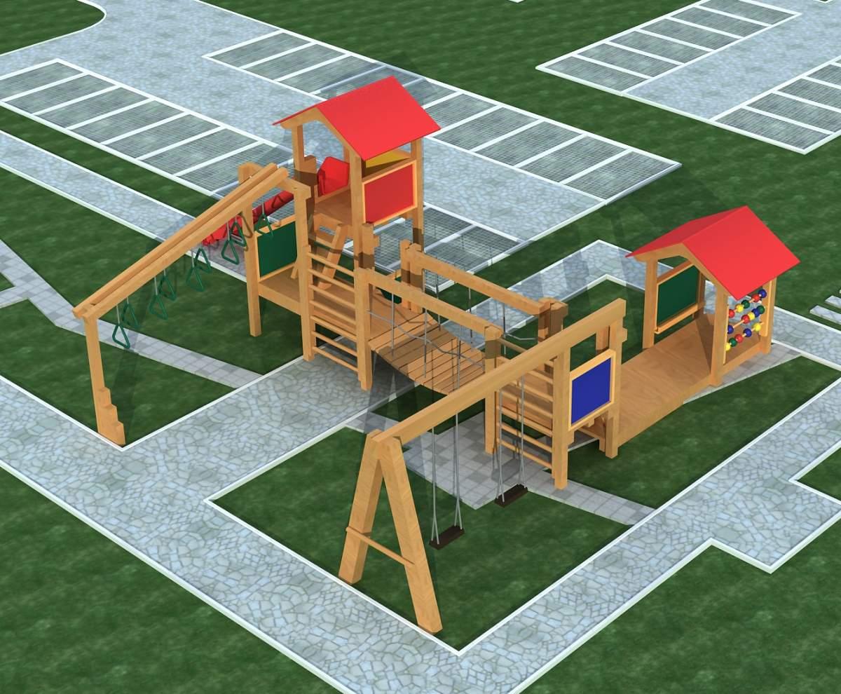 儿童--游乐场