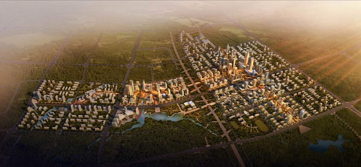 江津双福城市规划