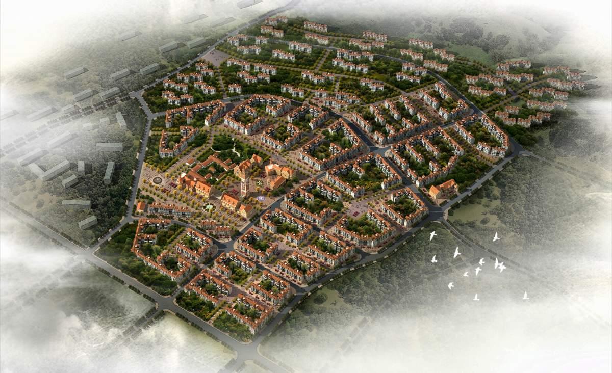 三郎镇规划
