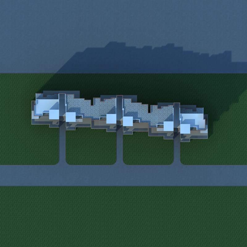 现代多层花园洋房
