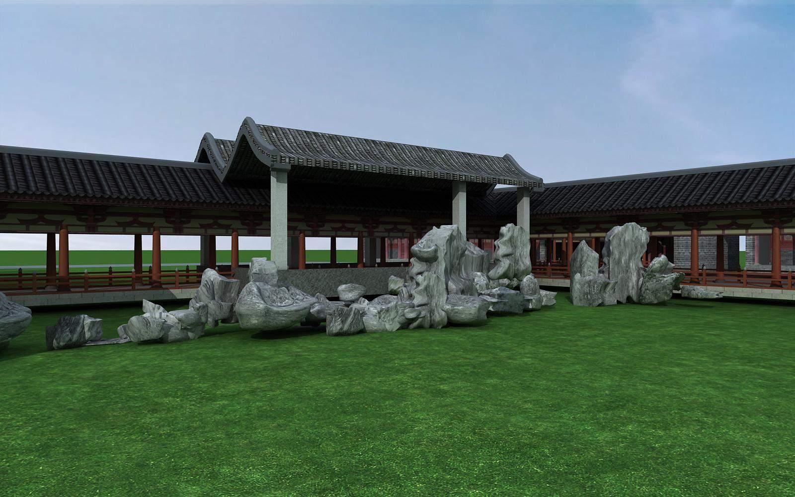 公园景观建筑