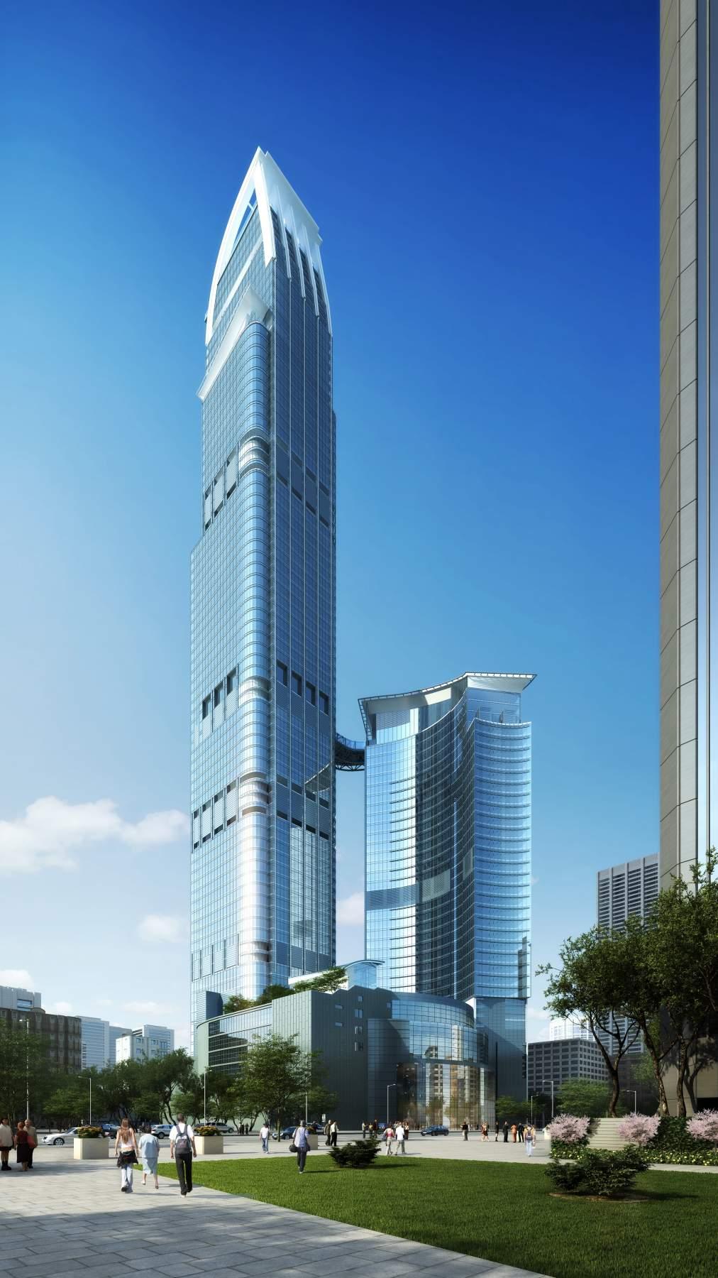 现代超高层综合大厦
