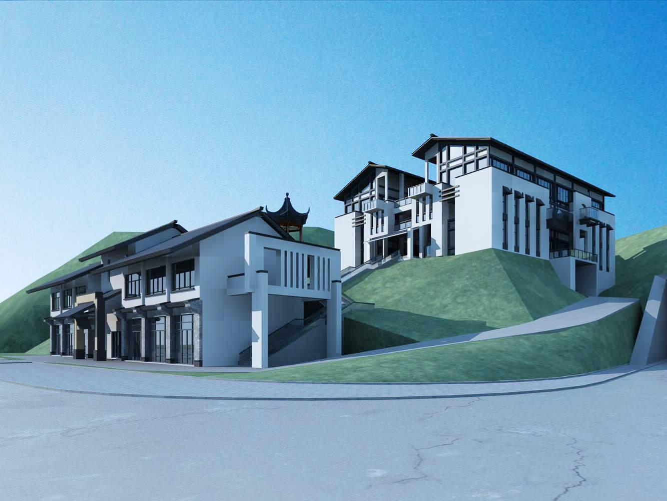 中式办公楼