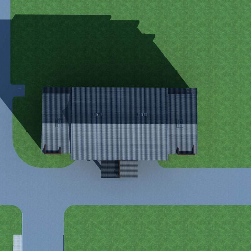 中式多层小办公楼
