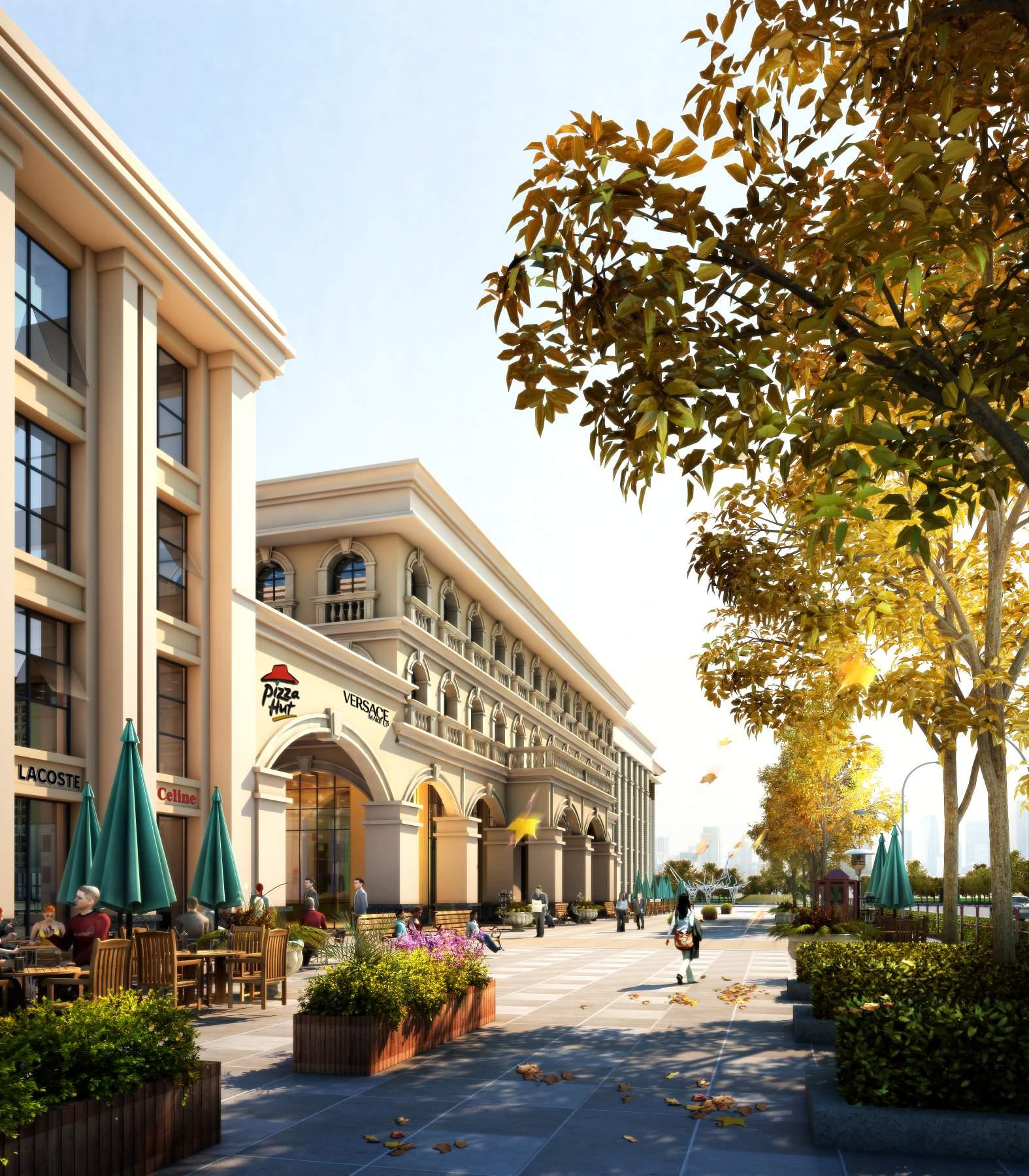 欧式商业及酒店