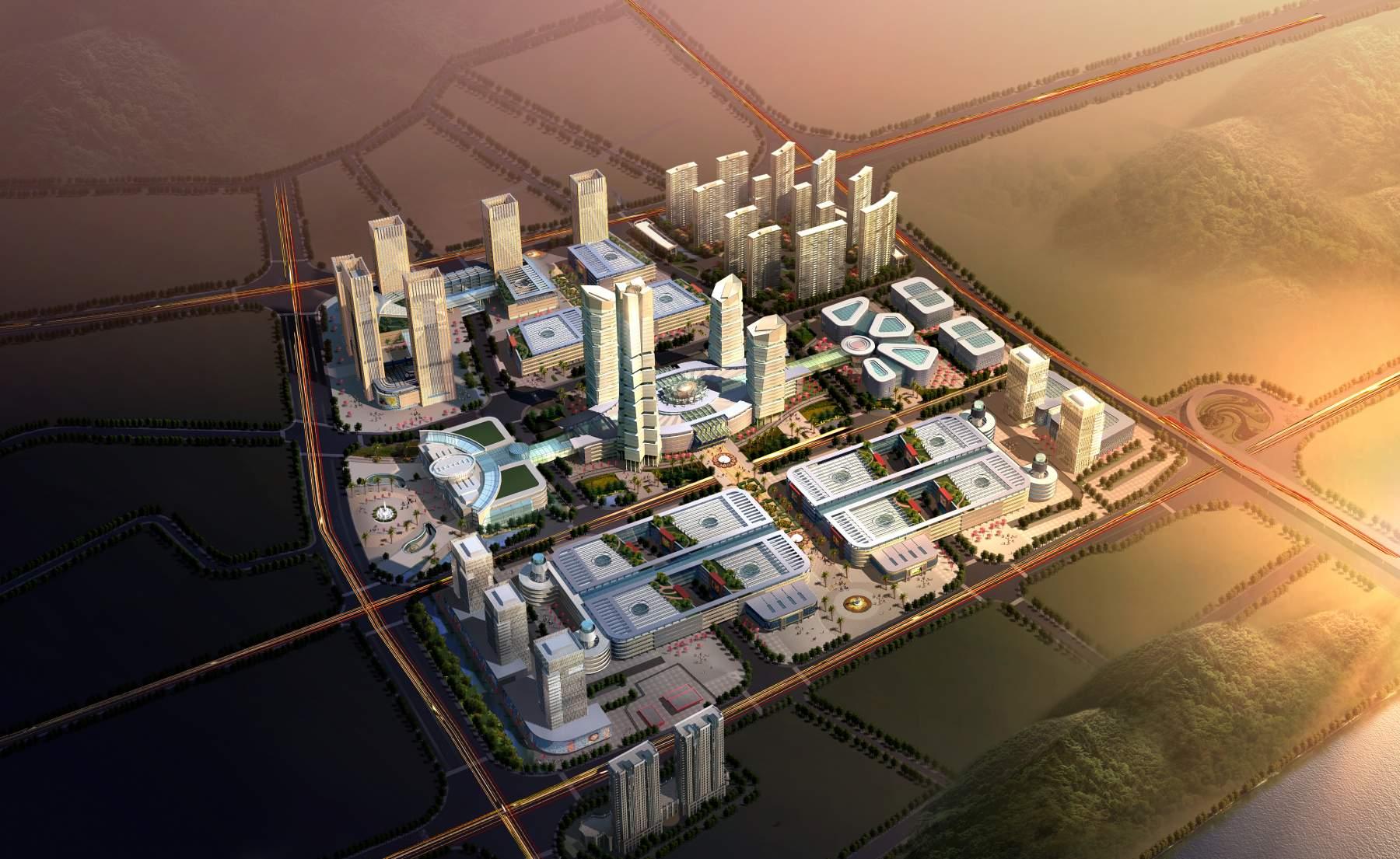 现代商贸城