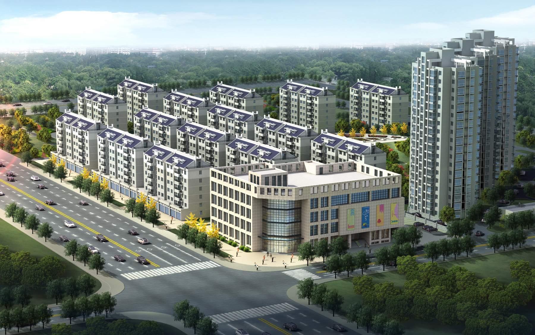 现代住宅小区