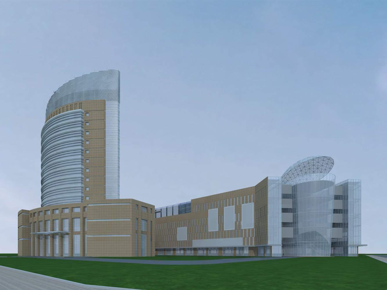 现代商厦及办公楼
