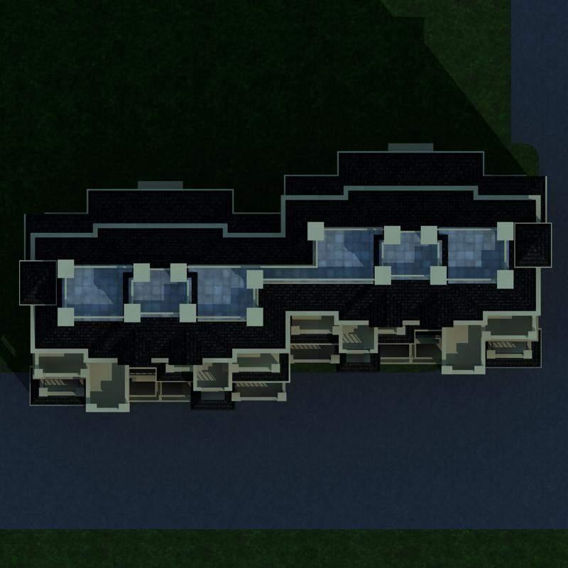 欧式联排别墅