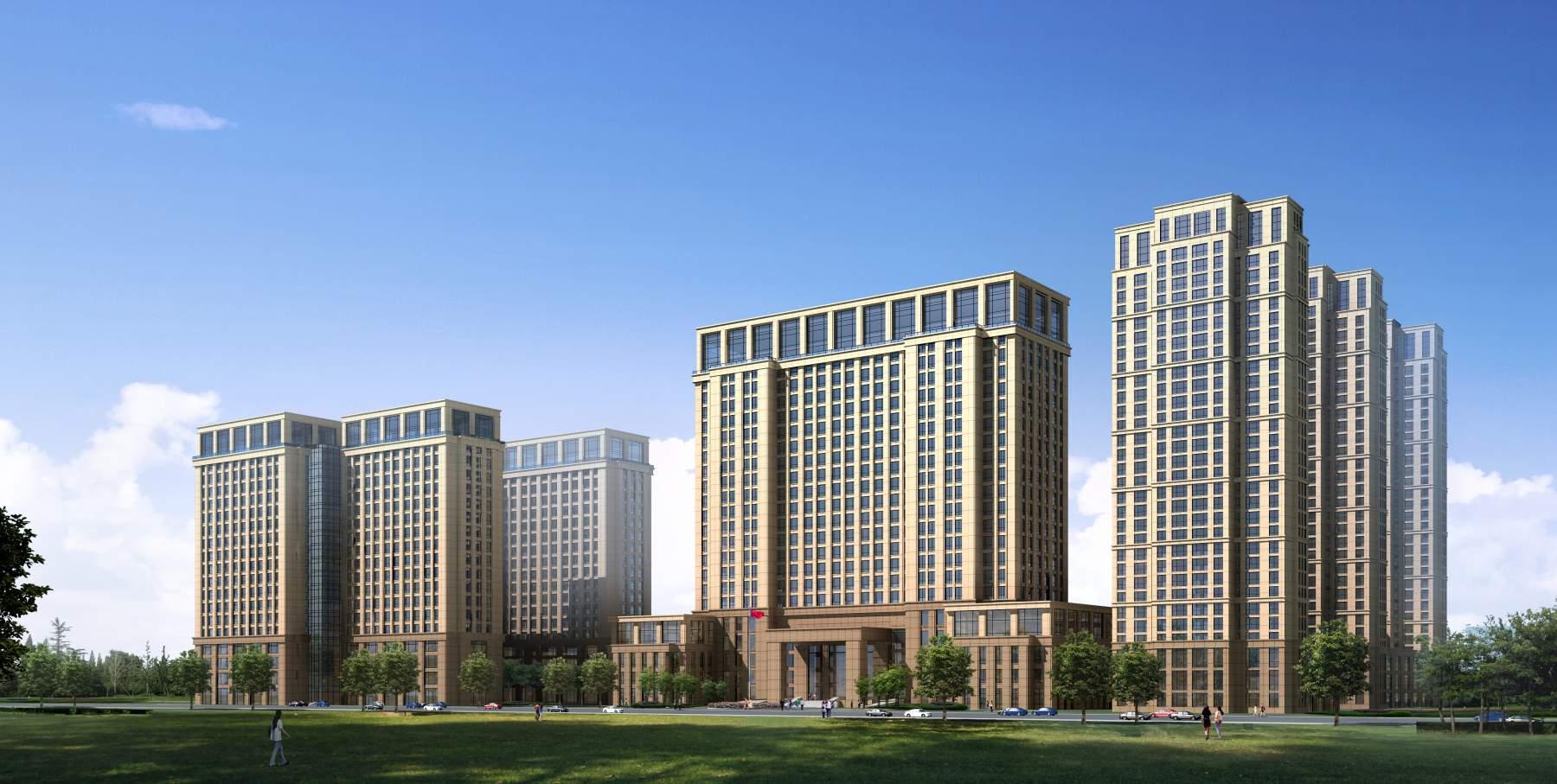 酒店式公寓及办公楼