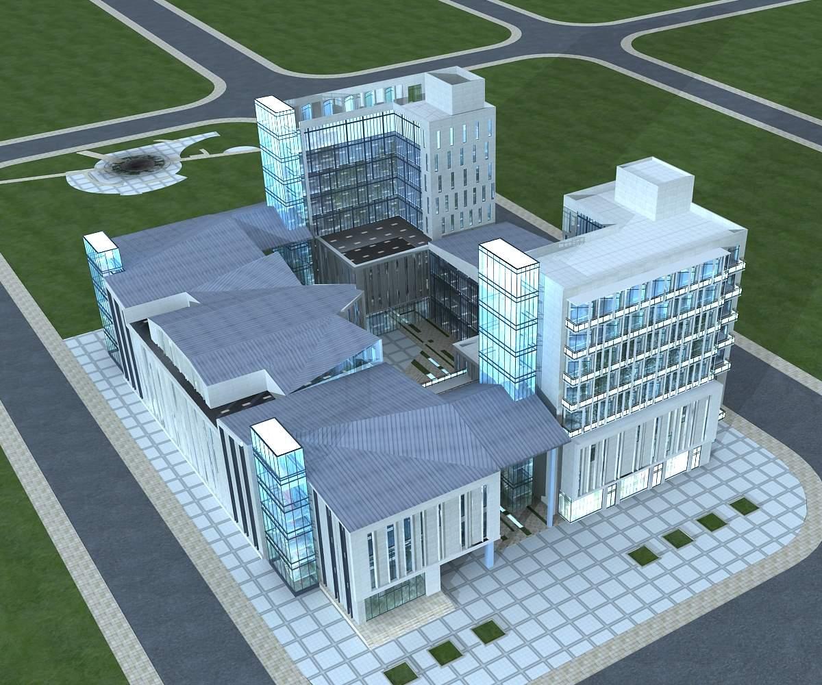 现代商业大厦
