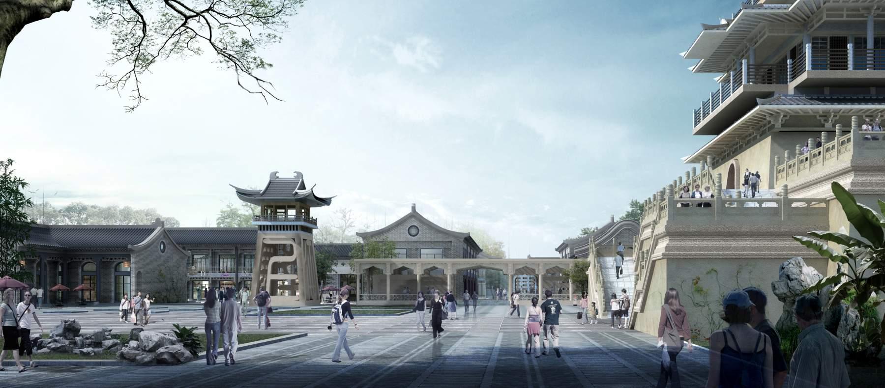 中式景观建筑