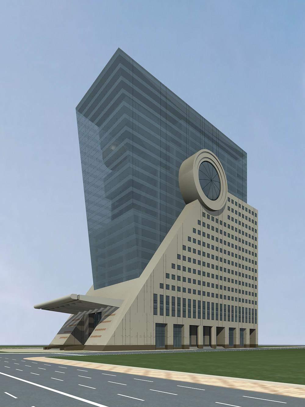 现代高层酒店