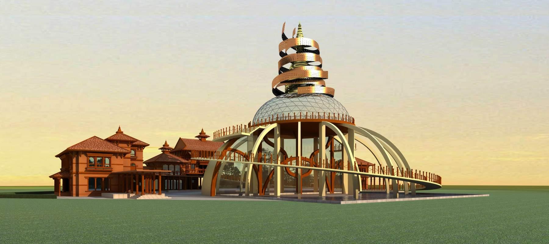 尼泊尔式建筑