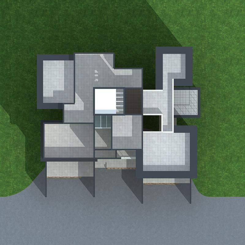 现代叠拼别墅