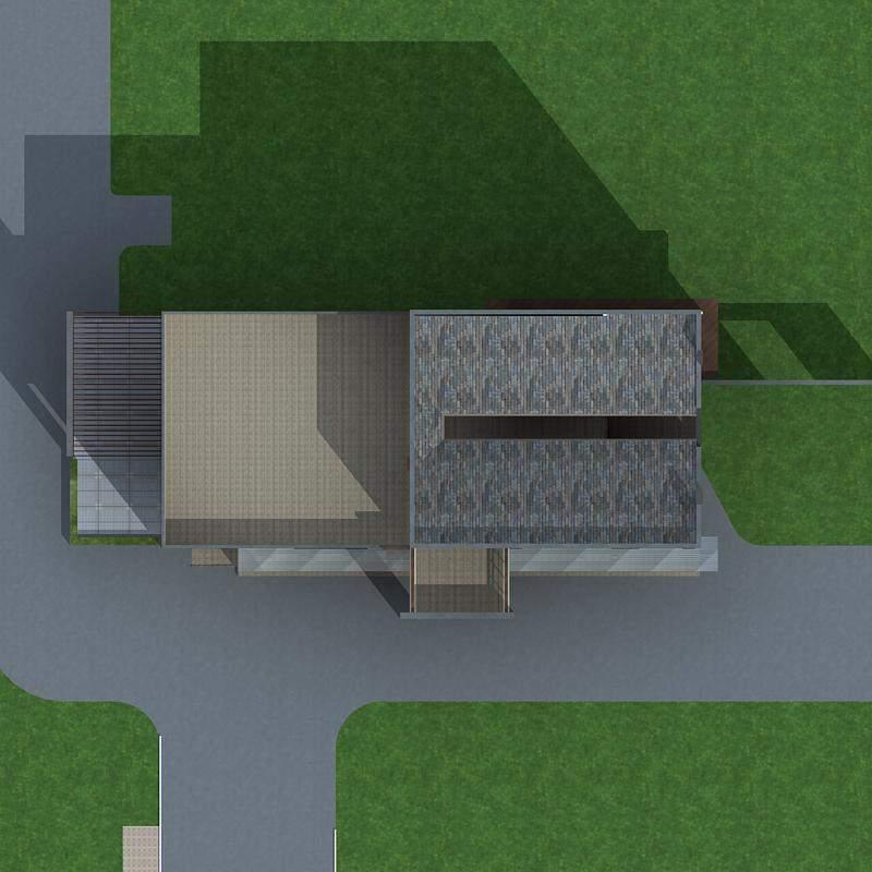 现代中式别墅