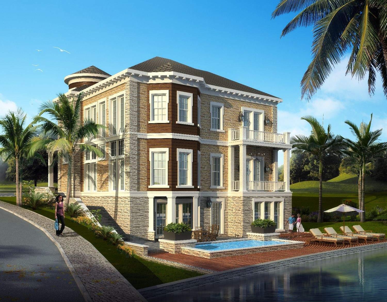 地中海式别墅