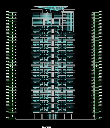 兰溪谷高层住宅平立剖全